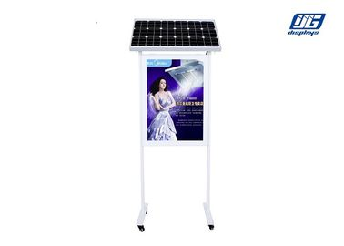 Good Quality Snap Frame Light Box & Double Pole Solar Powered Light Box Garbage Bin Advertising Two Sided Poster Display on sale