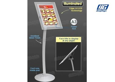 Good Quality Snap Frame Light Box & A3 Poster Display Stands ,  Illuminated LED Poster Frame Stand Bevel Display on sale