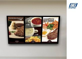 Good Quality Snap Frame Light Box & Wall Mounted Digital Advertising Display Screens High Resolution Menu Board on sale
