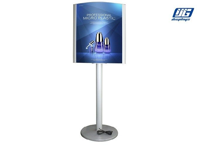 Double Sided Dispaly Mobile Poster Display Boards Snap Open Aluminum ...