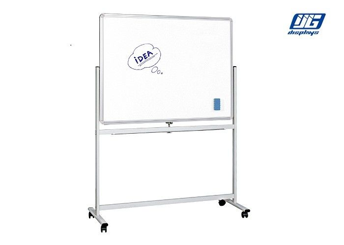 White Board Poster Display Stands Aluminum Profile Shelf For Office Usage