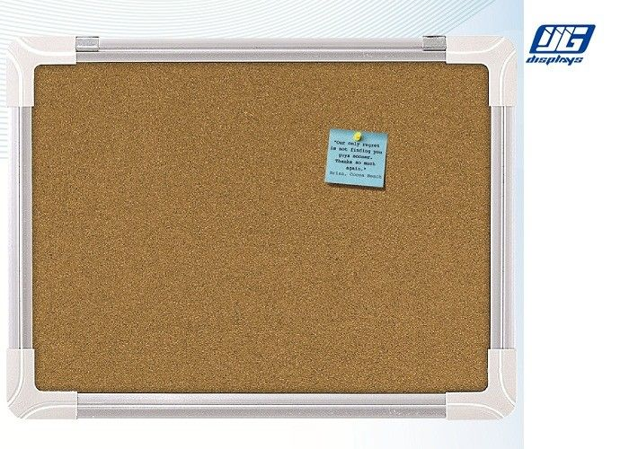 NT Cork Board with Plastic Corner For Tips / Poster Displaying