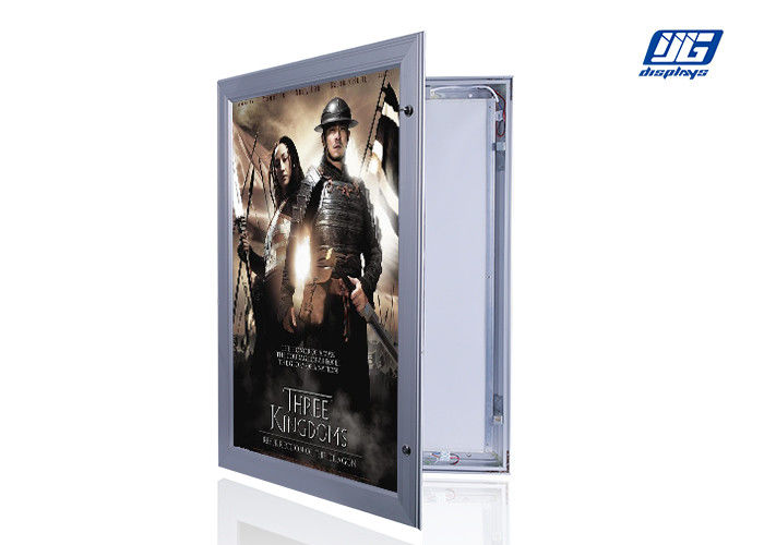 Hinged Door Frame Lockable Light Box For Indoor A0 ~ A3 525 X 420 X 42mm