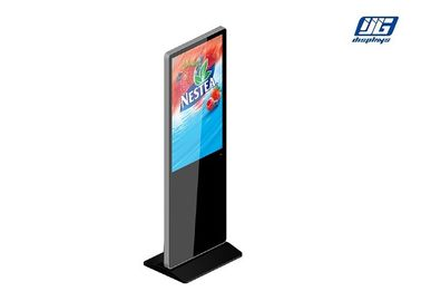 "43"" LCD High Resolution Wi-Fi Connecting Floor Standing Advertising LCD Display"