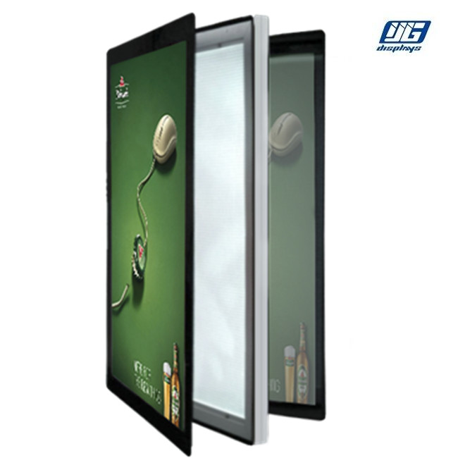 Single Or Double Face Magnetic Light Box Energy Saving A0 ~ A3 Customized